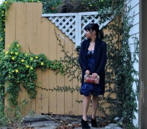 blue dress 022