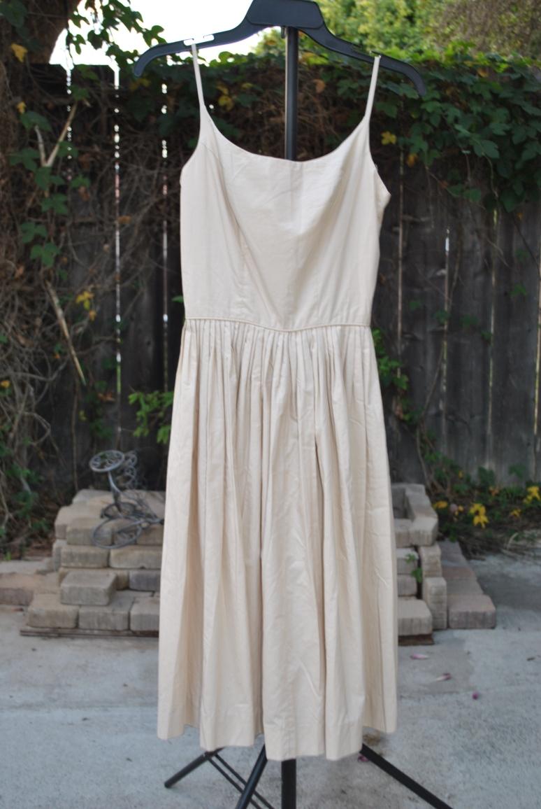 Betsy Johnson and tan vintage dress 074.JPG