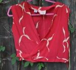 kate spade peach blouse047